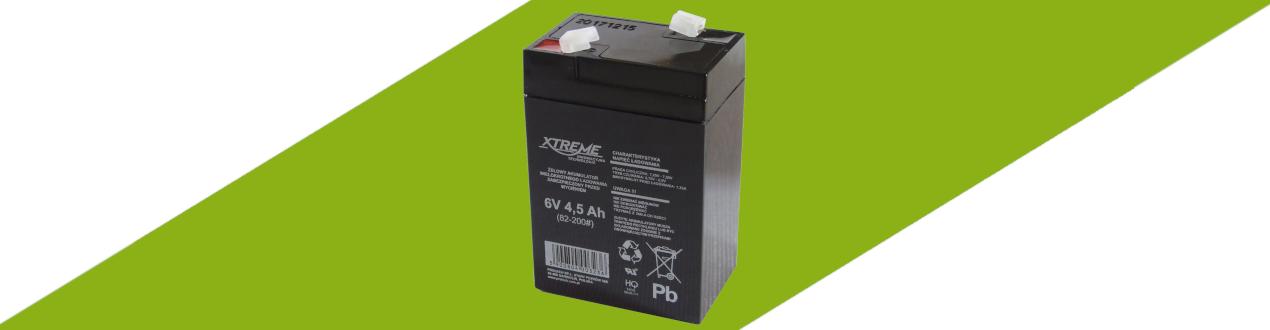 Akumulatory AGM 6 V